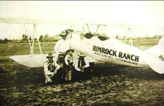 Rimrock airplane