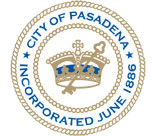 City of Pasadena, California, seal