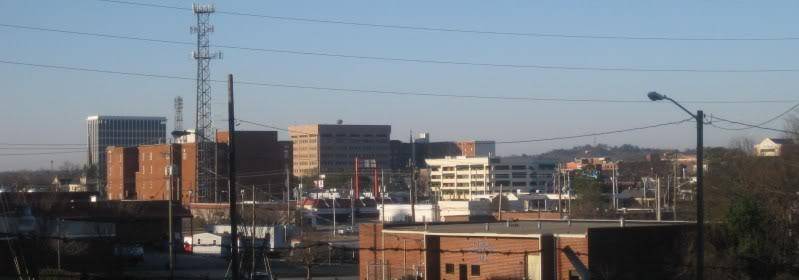 Downtown columbus ga skyline